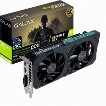 갤럭시 GALAX 지포스 GTX 1660 SUPER EX BLACK OC D6 6GB
