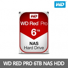 [WD] WD RED PRO [6TB] NAS HDD WD6002FFWX