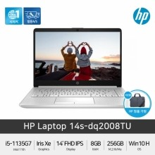 HP Laptop 가성비노트북 14s-dq2008TU [i5-1135G7/8GB/256GB/Win10Home][기본제품]